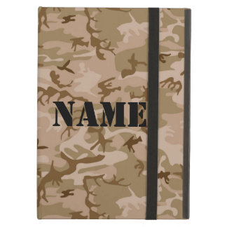 Personalized Desert Camouflage make it yours Cover For iPad Air