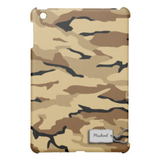 Personalized Desert Sand Military Camo Case For The iPad Mini