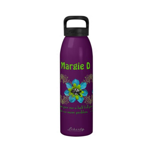 Personalized Designer Water Bottle Template