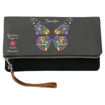 Personalized Diabetes Type 1 Medical Alert Clutch