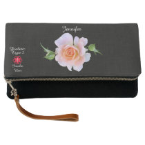 Personalized Diabetes Type 2 Medical Alert Clutch