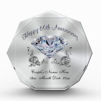 Parents 60th Wedding Anniversary Gifts on Zazzle