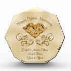 Personalized Diamond Anniversary Gifts, Any Year Acrylic Award