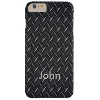 Personalized Diamond Metal Plate iPhone 6 Case
