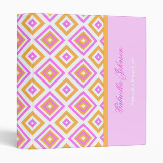 Personalized:Diamond Print Binder