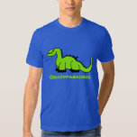 Personalized Dinosaur Adult T-Shirt for Men Dad