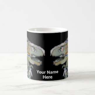 Personalized Dinosaur Dragon Mug