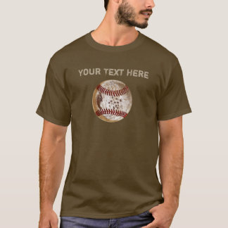 PERSONALIZED Dirty Baseball Shirts for Guys