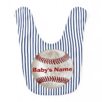 Personalized Dirty Look Baseball Baby Bib