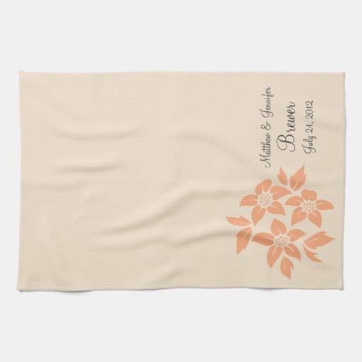 Personalised Wedding Gifts Towels : Personalized Dish Towel Wedding Gift Keepsake Zazzle