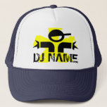 """Personalized DJ hat with custom name<br><div class=""""desc"""">Personalized DJ hat with custom name</div>"""