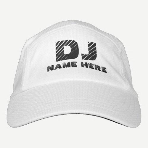 Personalized DJ Headsweats Hat