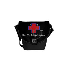 Personalized Doctor Bag Mini Messenger Bag at Zazzle