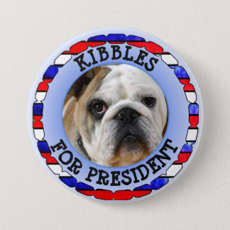 Personalized Dog for President Button