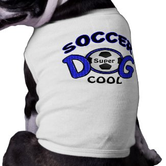 Personalized Dog Gifts, Soccer Dog Shirt