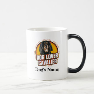 Personalized Dog Lover Cavalier Dog Breed Magic Mug