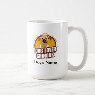 Personalized Dog Lover Chinook Dog Breed Coffee Mug