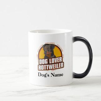 Personalized Dog Lover Rottweiler Dog Breed Magic Mug