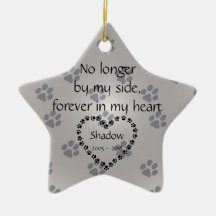 Personalized Christmas Memorial Dog Ornaments Let S
