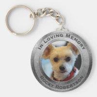 Personalized Dog Memorial Keychain