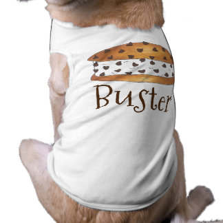 Personalized Dog Name Chipwich Ice Cream Cookie Tee