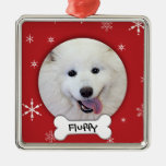 Personalized Dog Photo Holiday Ornaments