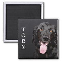 Personalized Dog Photo Refrigerator Magnet