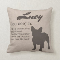 Personalized Dog Pillow - Dog Lovers Gift