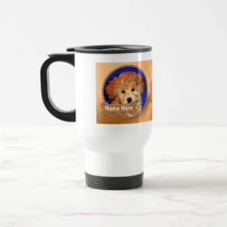 Personalized Dog Stuff YOUR 2 PHOTOS, 3 TEXT Mugs