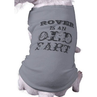 Personalized Dog T-Shirt: Old Fart T-Shirt