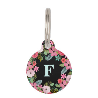 Personalized dog tag with phone number