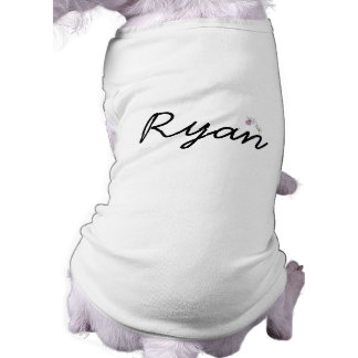 Personalized Doggie Ribbed Tank Top
