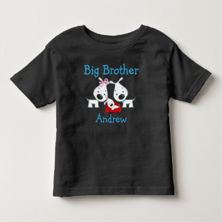 Personalized Dogs Big Brother Toddler T-shirt