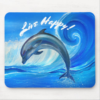 Personalized Dolphin Gifts | Custom Mouse Pad