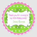 Personalized Doodle Frame Stickers