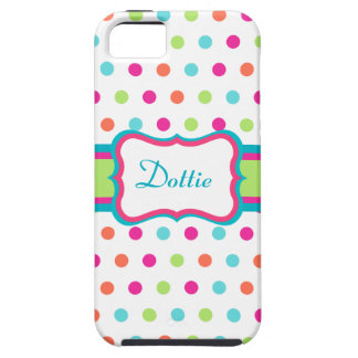Personalized Dot iPhone 5 Case