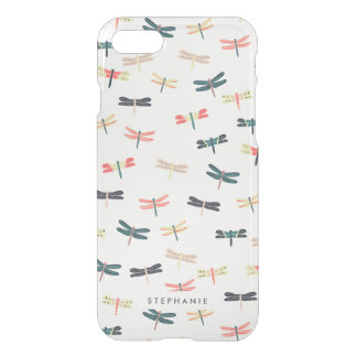 Personalized Dragonflies iPhone 7 Case