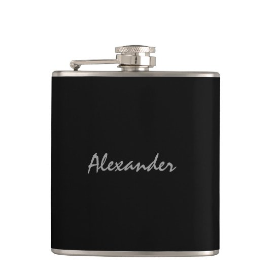 Personalized drink flask | elegant gift for men