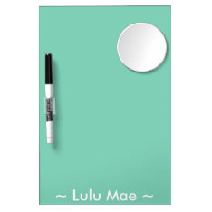 Personalized Dry-erase Board With Mirror at Zazzle
