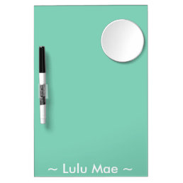 Personalized Dry-Erase Board with Mirror