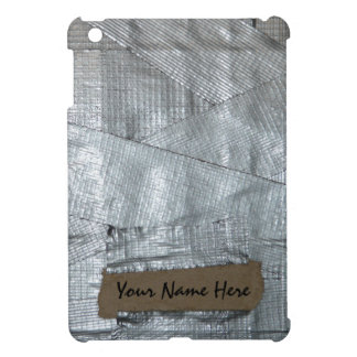 Personalized Duct Tape and Cardboard Cover iPad Mini Cover
