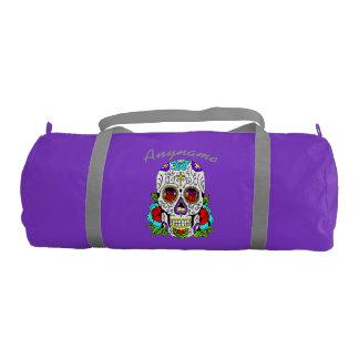 Personalized Duffle Bag Carnival Skulls
