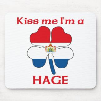 Personalized Dutch Kiss Me I'm Hage Mouse Mat