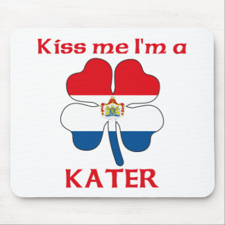 Personalized Dutch Kiss Me I'm Kater Mouse Pad