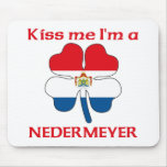 Personalized Dutch Kiss Me I'm Nedermeyer Mouse Mat