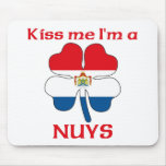 Personalized Dutch Kiss Me I'm Nuys Mouse Mat