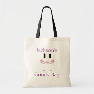 Personalized Easter Bunny Tote Budget Tote Bag