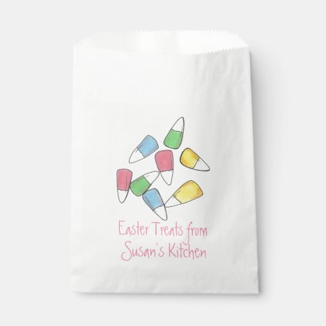 Personalized Easter Candy Homemade Treats Bag