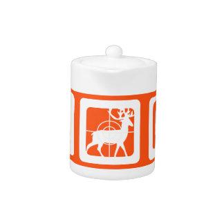 Personalized Eat Sleep Hunt 1st Deer Keepsake Teapot