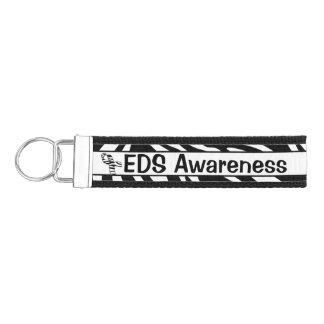 Personalized EDS Awareness Wrist Key Chain